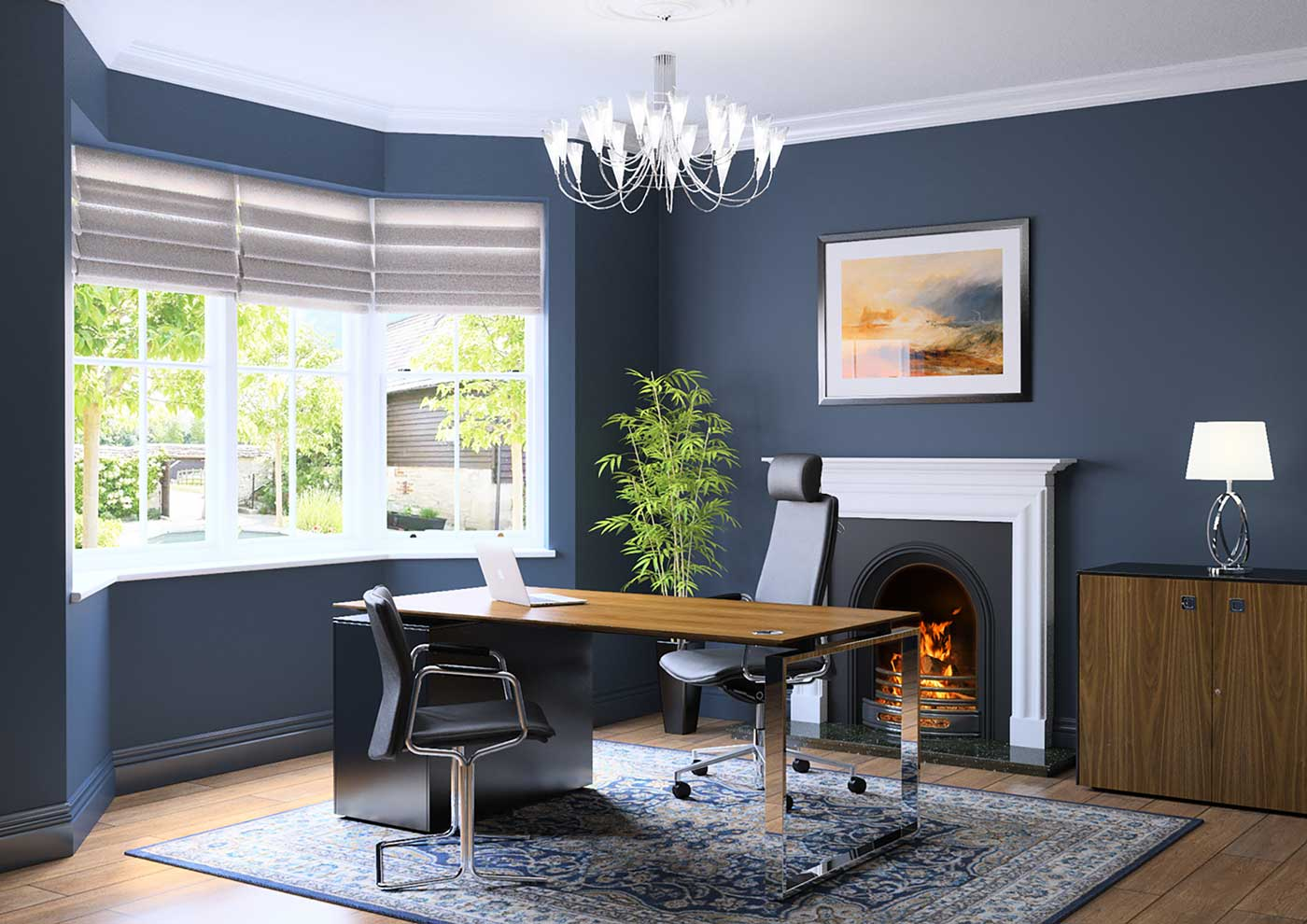 Make yourself at home in your home office