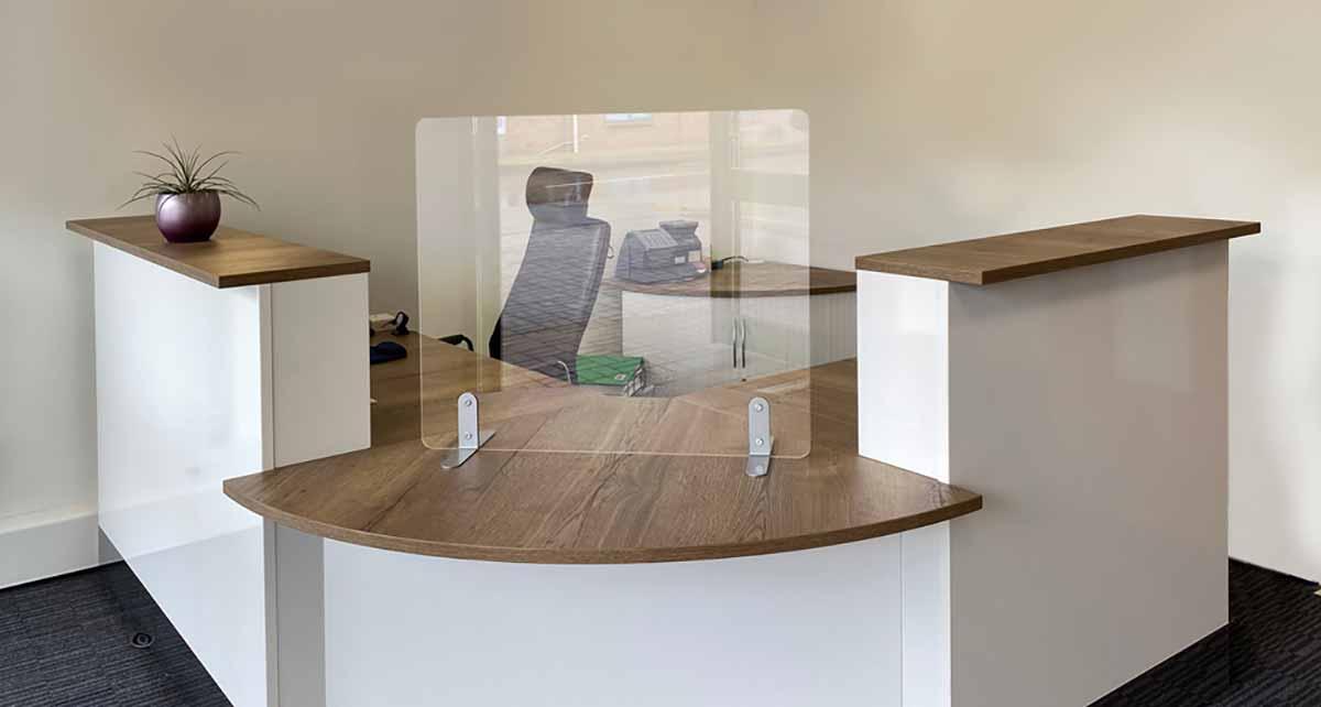 Front Desk Covid Screens