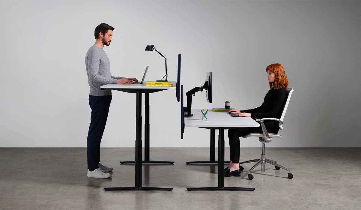 Sit Stand Chairs and Desks